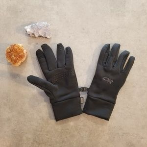 Outdoor Research Black Lined Gloves NWOT